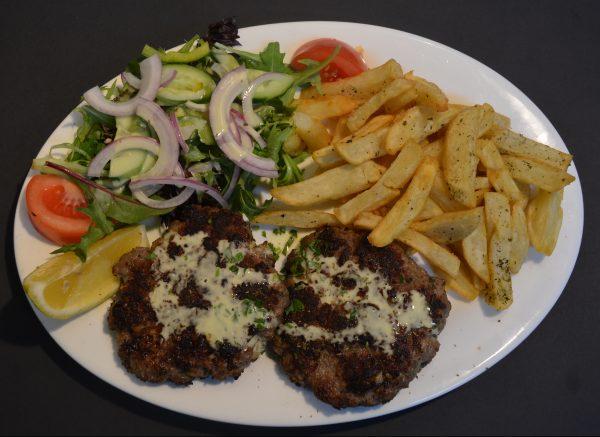 Homemade Greek Beef Patties