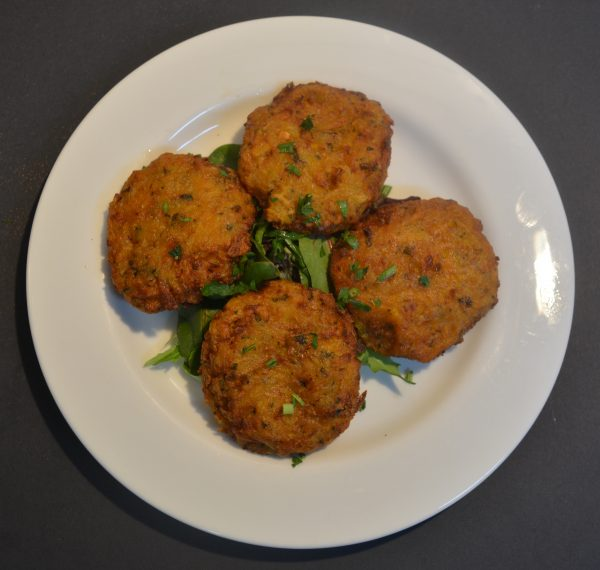 Kolokythania Fried Pumpkin Patties