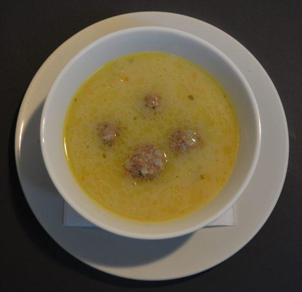 Giouvarlakia - Meatball Soup