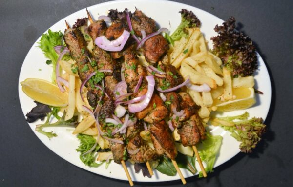 thegreattasteofgreece.com.au - set menu 2 - Souvlakia 2 pork and 2 chicken